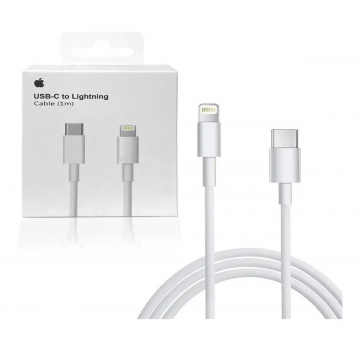 Cabo Iphone Apple Lightning Tipo - C Original - 1 metro
